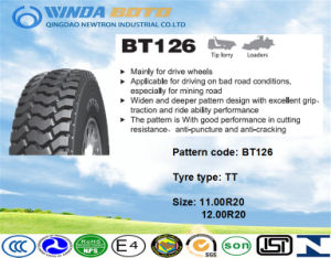 Radial OTR Tyre, off The Road Tire for Tip Lorry Loaders 11.00r20