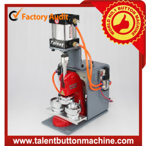 High Speed Interchangeable Safe Metal Slide Pneumatic Button Making Machine (SDAP-N1) pictures & photos