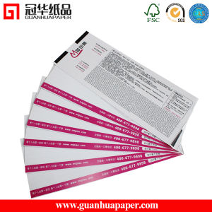 High Quality Color Printing Customed Paper/Door Ticket pictures & photos