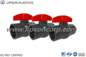 Lipson PVC Ball Valves (Socket & Thread) Sch40 DIN pictures & photos
