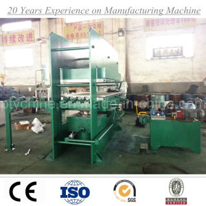 Rubber Tile Vulcanizing Press Machine From China Factory