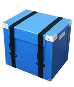 Chemical Resistance Packaging PP Hollow Box (QC2123)