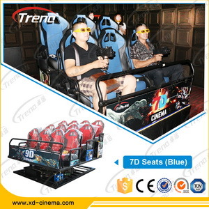 2015 Newest Hot 7D Cinema Simulator Equipment 7D Theater 2015 7D Cinema System pictures & photos