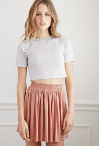 Lastest Special Design Pleated Women Mini Skirt pictures & photos