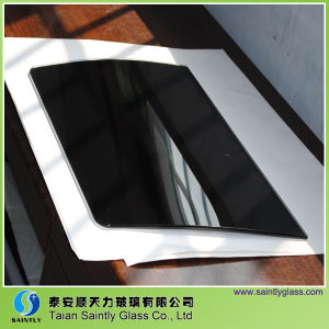 6mm Toughened Clear Decorative Glass Panel for Chimney Range Hood