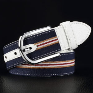 Sports Leisure Jeans Canvas Leather Belt Fashion Accessories