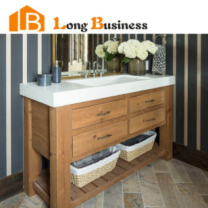 Wood Color Unfinished Bathroom Vanities