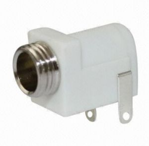 2.5mm DC Power Jack-White Color