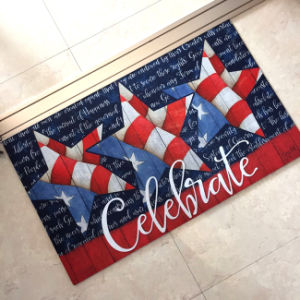 Designer Decorative Beautiful Photo Image Picture Sublimation Heat Transfer Silk Digital Custom 3D Printed Doormats pictures & photos