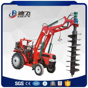 Tractor Mounted Dft-B85 Hydraulic Press Rotary Pile Driver Drilling Rig Machine pictures & photos