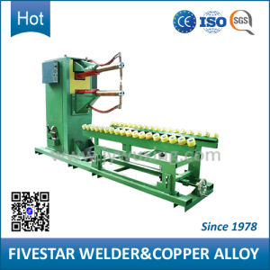 3 Phase Frequency Control Spot Welding Machine for Steel Oil Drum Making pictures & photos