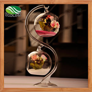 Creative Europe Type Double Hanging Glass Crystal Vase pictures & photos