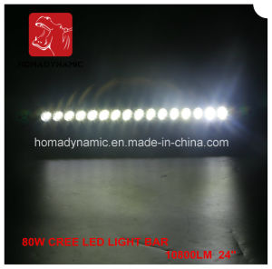 "Factory Skull OEM Logo 80W LED Light Bar Auto Parts 4X4 Accessories LED Driving Light 24"" LED Light Bar pictures & photos"