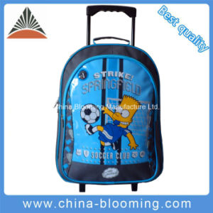 School Stationery Trolley Rolling Backpack Student Gift Set Bag pictures & photos