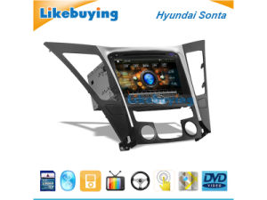 8 Inch Car DVD GPS for Hyundai Sonata, Auto DVD GPS Navigation, FM/Am  Radio, Bluetooth, Aux Function and Free 4G SD Card with Map