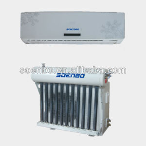 Save Energy Solar Hybird Air Conditioner for Home 12000BTU, Geen Product, Split Wall-Mounted.