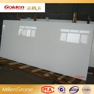 Pure Milky White Glass for Facade