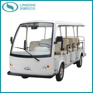 CE Electric Car Sightseeing Car with Gearbox (LQY140AN)