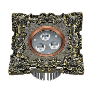 LED Ceiling Light with Brass Face Plate pictures & photos
