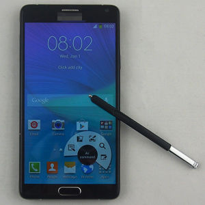 Note 4 Best Price Mt6582 1.2GHz Quad Core RAM 512MB ROM 4GB 5.7 Inch 3G Android Mobile Price List