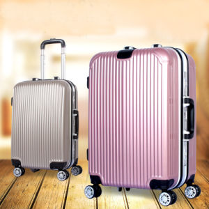 Retail Aluminum Luggage with Hook for Bag