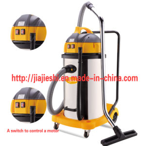 70L 2 Motors Commercial or Industrial Wet and Dry Vacuum Cleaner