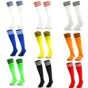 Custom Cheap Mens Sports Soccer Football Rugby Socks Footwear for Players pictures & photos