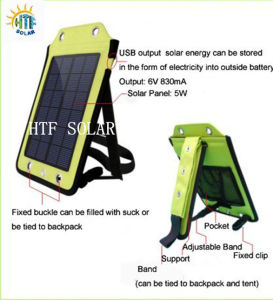 2.5W Solar Packpack Charger/ Solar Travel Charger Bag +Bracket+Sucker (HTF-F020)