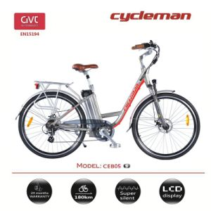 "28"" 36V/500W Lithium Battery City Electric Bike"