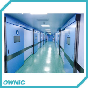 Steel Automatic Hermetic Sliding Door of Hospital pictures & photos