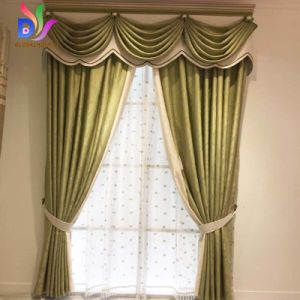 Europe Style Curtains Luxury Embroidered Curtains for Living Room Modern  Window Curtain