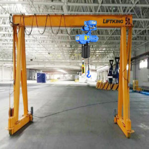 2t Mobile Double Girder Beam Box Crane, Gantry Crane pictures & photos