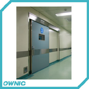 Embedded Type Steel Plate Hermetic Sliding Door of Operation Room pictures & photos