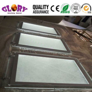 Advertising Acrylic Lighting Box/LED Frameless Acrylic Crystal Light Box pictures & photos