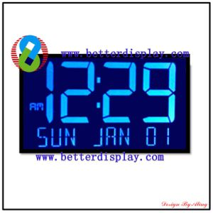 Battery Powered LCD Monitor Blue Backlight LCD Display Module pictures & photos