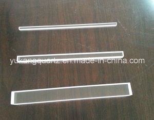 Square Shape Customized Transparent Quartz Glass Rod pictures & photos