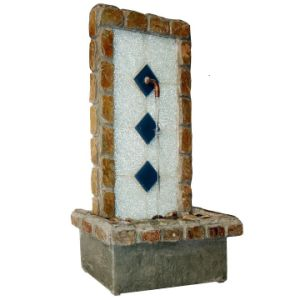 Tabletop Stone Fountain with Copper Outlet pictures & photos