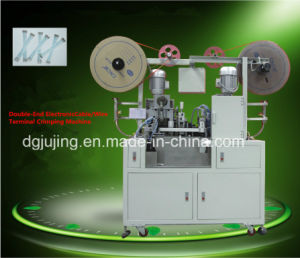 Fully Automatic Both End Wire Cable Terminal Crimping Machine pictures & photos