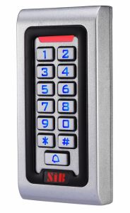 Metal Access Control Keypad with Digital Backlit S601em-W