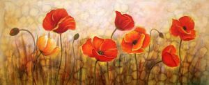 Decorative Flower on Oil Painting for Home Decoration pictures & photos