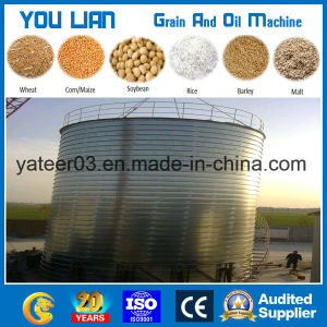 100 Ton to 2000ton Flat Bottom Steel Grain Silo pictures & photos