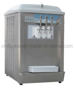 Table Style Soft Ice Cream Machine with CE (ICM916T)