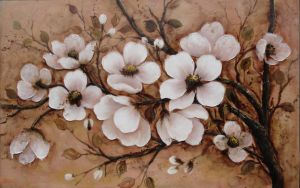 Oil Painting of Decorative Flowers-7 pictures & photos