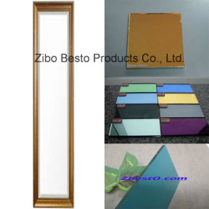 Pink/Gold/Blue/Red/Bronze/Brown White Full Length Mirror