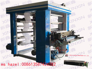 Auto Tension Controller Flexo Graphic Printing Machine
