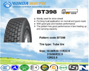 TBR Tire, Truck&Bus Tire, Radial Tire Bt398 10.00r20