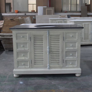 Rustic White Lacquer European Wooden