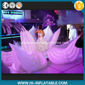 China custom made wedding party stage decoration inflatable ground custom made wedding party stage decoration inflatable ground flower for sale junglespirit Choice Image