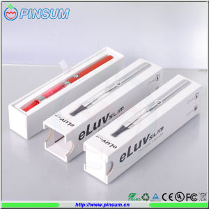 High Quality Best Selling Electronic Cigarette Silver E Cig Eluv