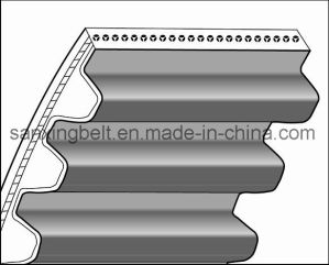 Rubber Open Ended Timing Belt S8m Profile for Textile Machine for India Market